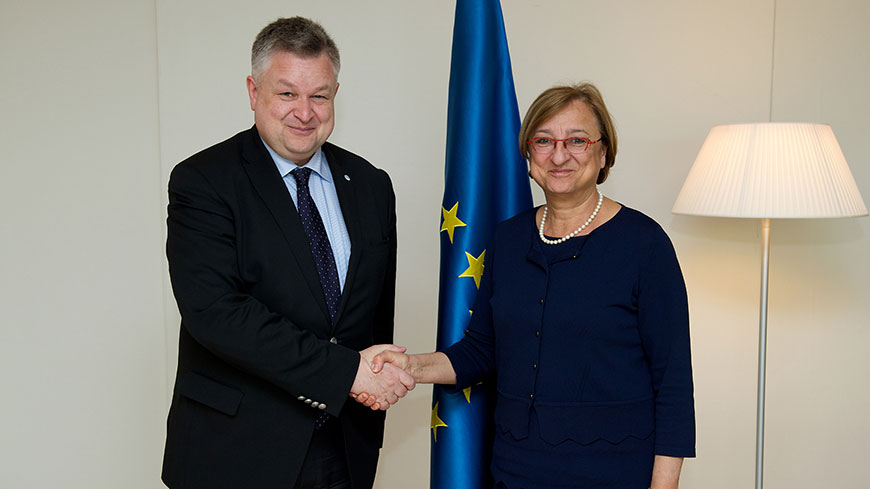 Deputy Secretary General met with Director of the OSCE Office for Democratic Institutions and Human Rights