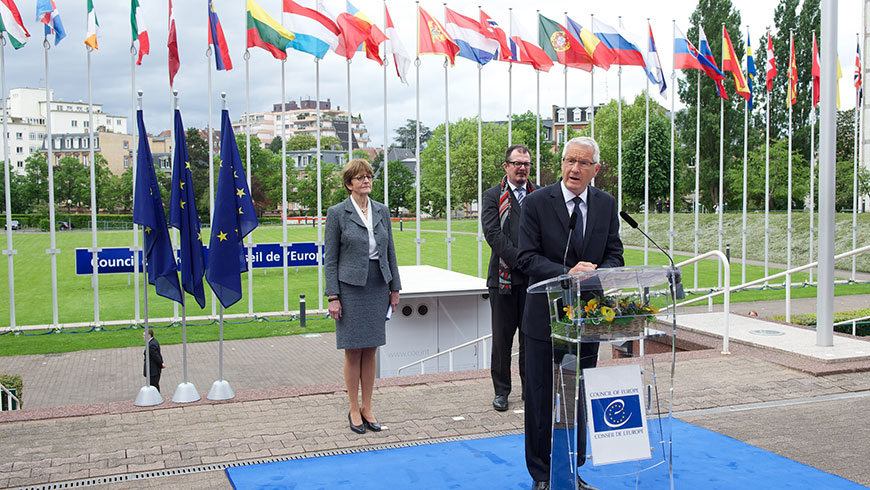 On 9 May, Council of Europe's leaders pay tribute to victims, urge recommitment to values