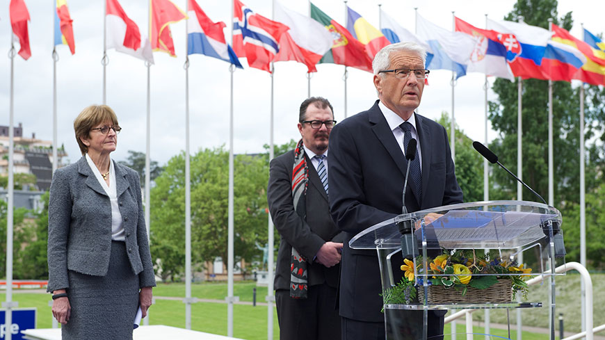 Council of Europe commemorates end of Second World War