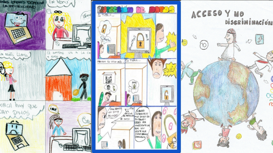World Internet Day: children comic competition on the Guide to Human Rights for Internet Users