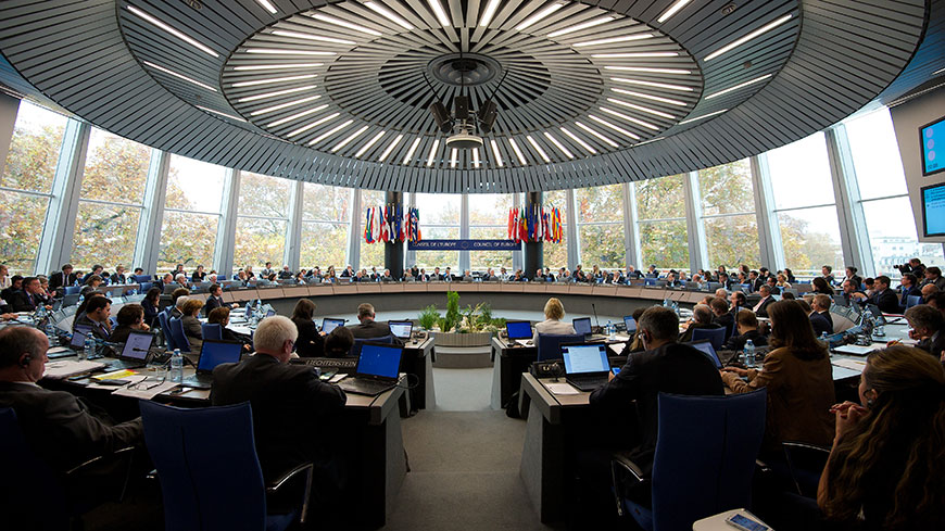 Committee of Ministers: annual session - Brussels, 19 May