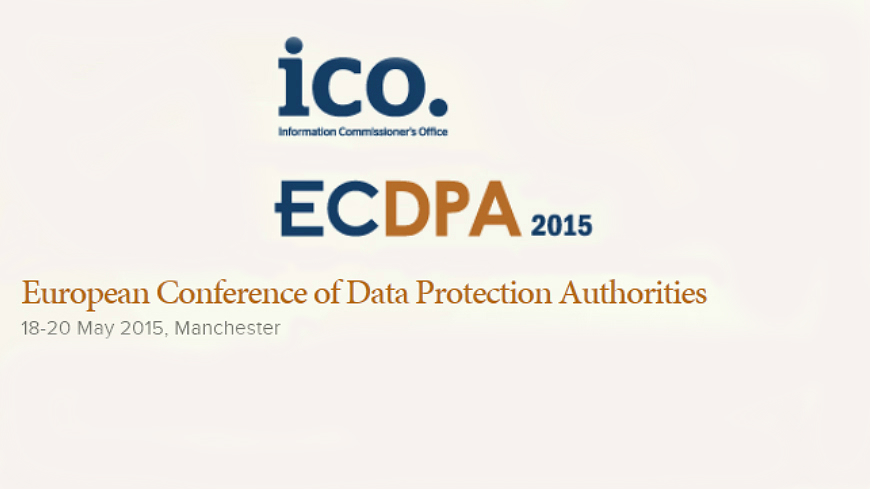 The Council of Europe participates at the European Conference of Data Protection Authorities