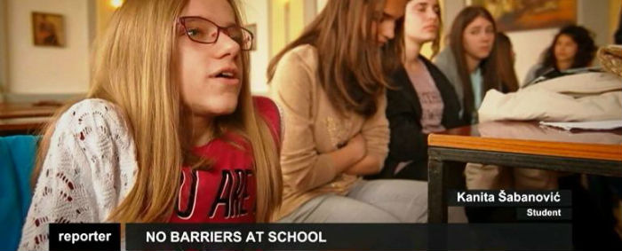 "Euronews Documentary ""No Barriers At School"""