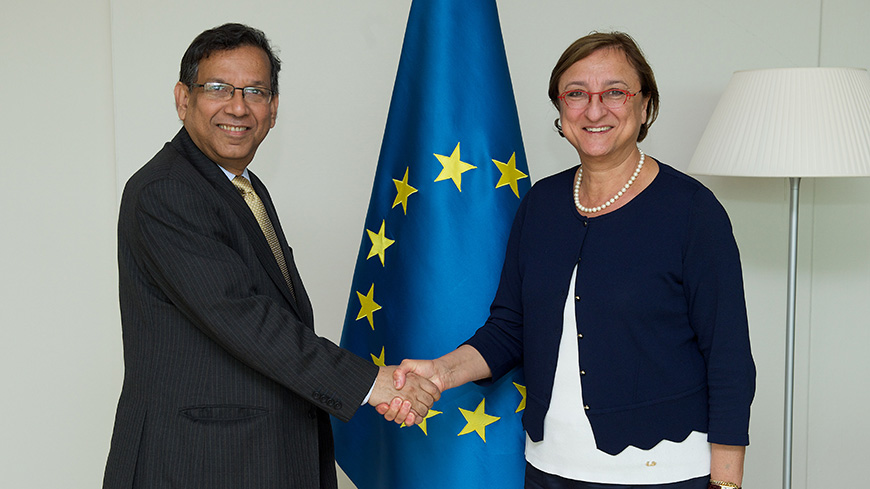 Deputy Secretary met the Minister of Law, Justice and Parliamentary Affairs of Bangladesh