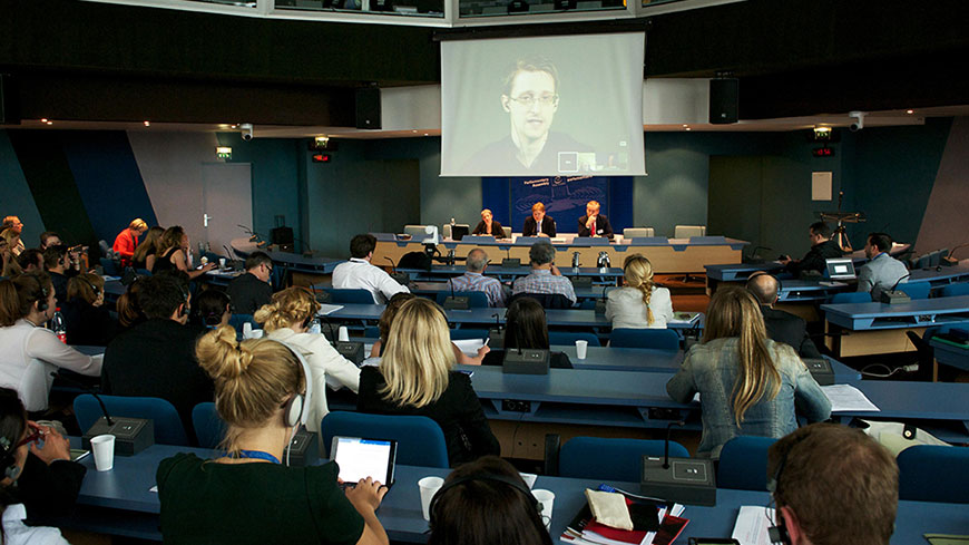 Let Snowden return to US and plead 'public interest', says PACE