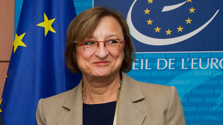 Gabriella Battaini-Dragoni re-elected Deputy Secretary General of the Council of Europe