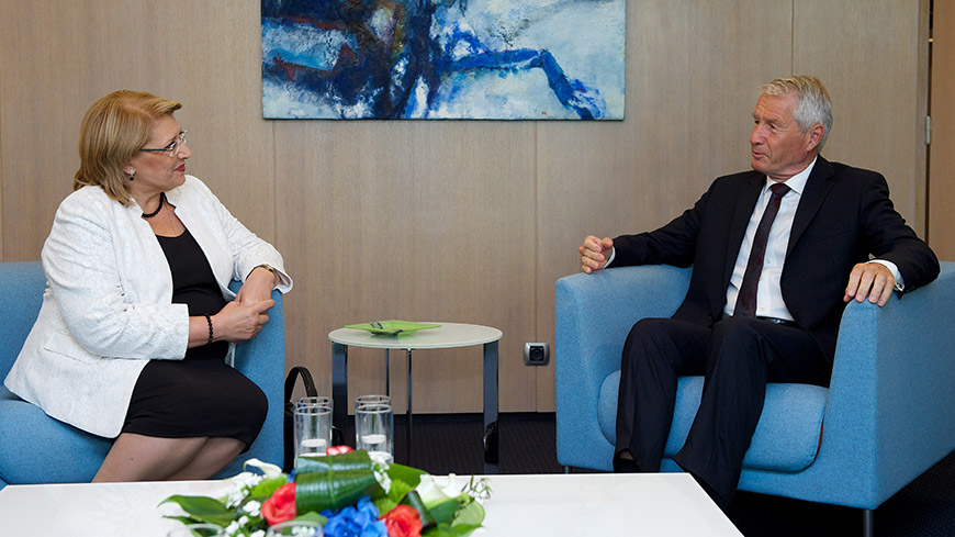 Secretary General receives President of Malta