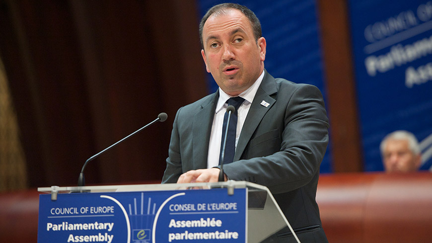 Igor Crnadak presents the priorities of Bosnia and Herzegovina's Chairmanship