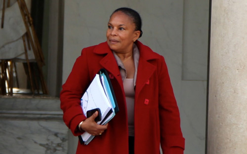 Commissioner's reaction to racist attacks on French Minister of Justice Taubira