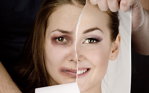 Violence against women - copyright Shutterstock
