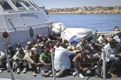 African migrants are drowning in the Mediterranean