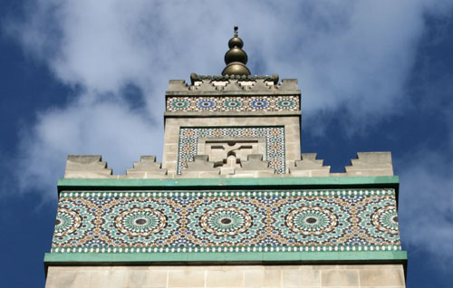 Great Mosque of Paris – Photo Shutterstock/Tupungato