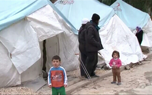 Syrian refugees in Hatay, Turkey