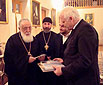 Commissioner Hammarberg and Patriarch Ilia II join forces in Georgia on prisoners and missing persons