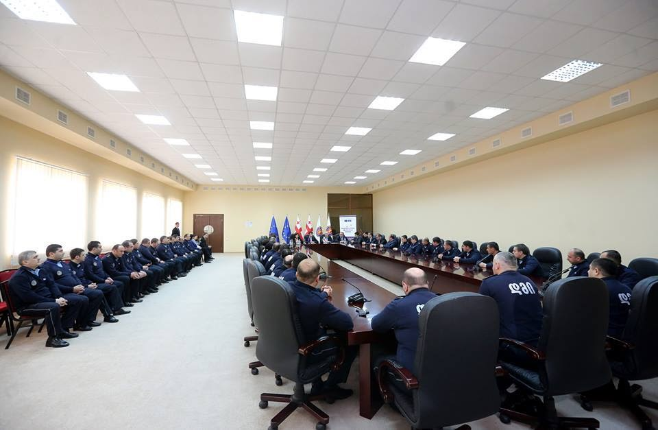 Launching of the cascade training course on health promotion for the staff of temporary detention isolators. The whole staff for the first time was given a possibility to undergo the training.