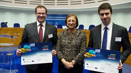 Team from City University London wins 2014 edition of the European Human Rights Moot Court Competition