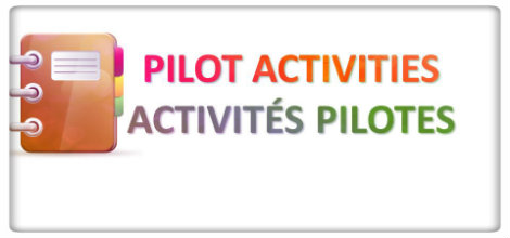 Pilot activity priorities for 2016