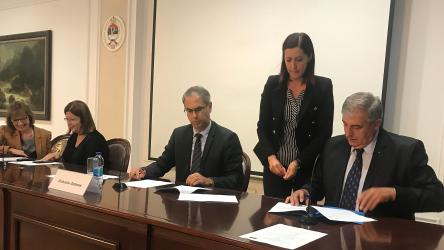 Signing Ceremony of the Inter-Municipal Agreement