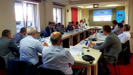 First consultation meeting for developing a Strategic Policy Document to facilitate the implementation of operational procedures in prisons for violent and extremist prisoners, their rehabilitation and the multi-agency cooperation