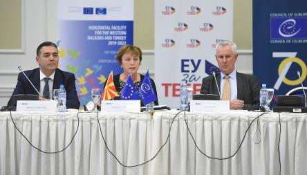 The EU and the Council of Europe continue to support reforms in the Western Balkans and Turkey
