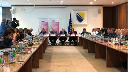 The European Union and the Council of Europe continue supporting reforms in the field of human rights in Bosnia and Herzegovina