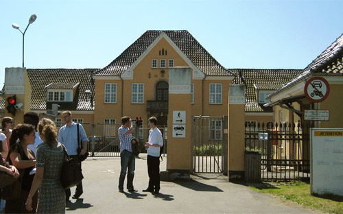Centre for asylum seekers in Sandholm, Denmark