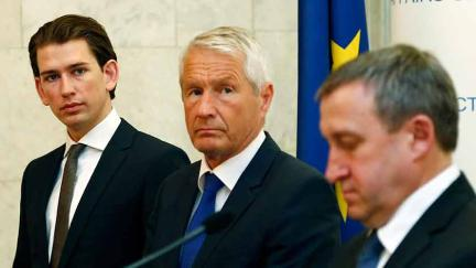 Kiev: Secretary General Jagland and Austrian Foreign Minister Kurz meet with Prime Minister Yatsenyuk and Foreign Minister Deshchytsia