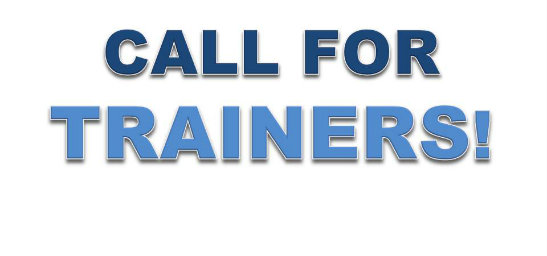 Looking for 2 trainers from the Youth sector