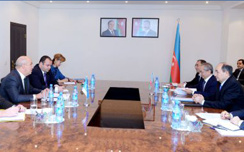 Azerbaijani Justice Minister meets CoE Commissioner for Human Rights - © AzerTAc