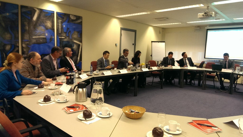 Group of officials and NGO representatives visit Netherlands