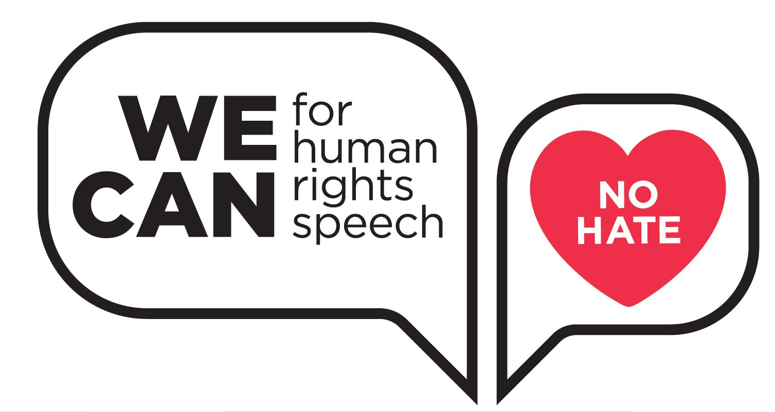 WE CAN for human rights speech