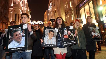Concern at arrest of journalists in Turkey