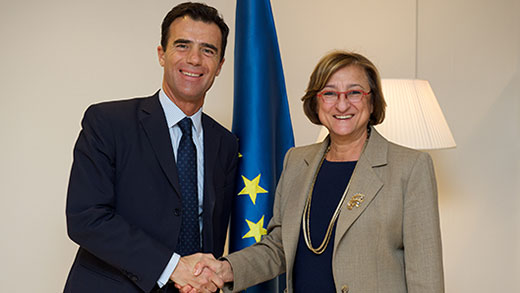 Council of Europe-European Union relations: Deputy Secretary General meets State Secretary for European Affairs of Italy