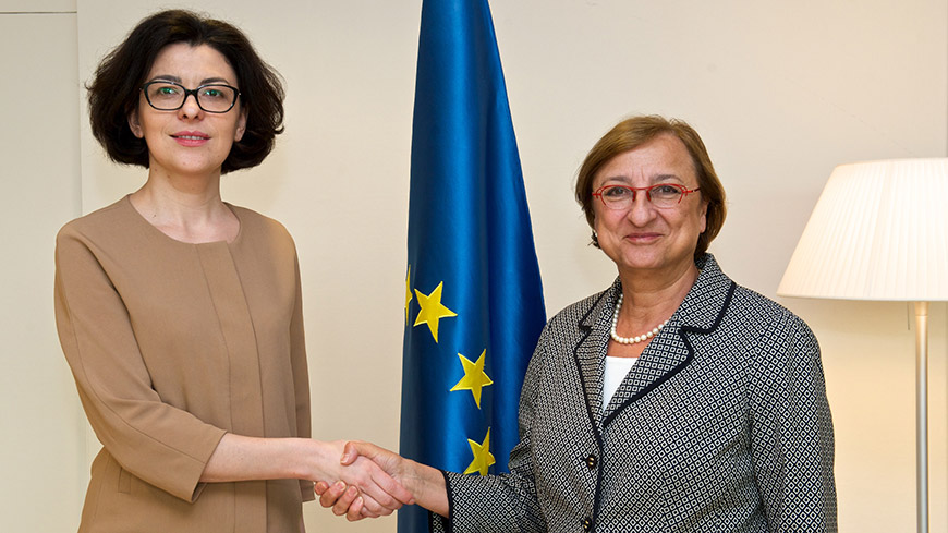The Deputy Secretary met the Deputy Chairperson of the Verkhovna Rada of Ukraine