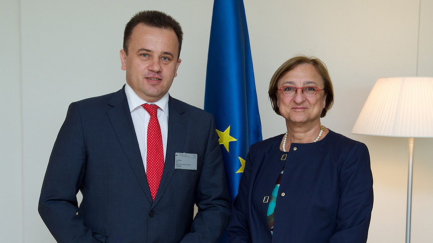 Deputy Secretary General met with Minister for Social Dialogue of Romania