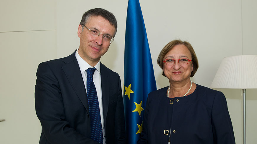 Fight against corruption: Deputy Secretary General receives Raffaele Cantone
