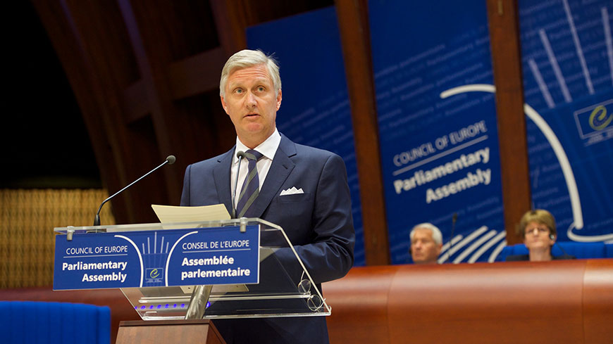 "The King of the Belgians: ""let us build and preserve a decent society"""