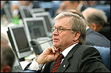 Ren� van der Linden, Pr�sident de l�Assembl�e Parlementaire