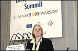 Bettina Schwarzmayr, European Youth Forum Vice-President