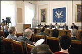 General view of the Extraordinary meeting of the Liaison Committee of INGOs